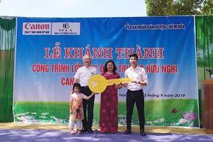 Khánh thành công trình lớp học điểm trường tiểu học hữu nghị tại Tuyên Quang