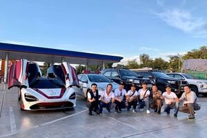 Xe tiền trạm Asean Rally 2020 tới Thái Lan, Cường Đô La nhập hội