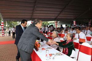 Phó Thủ tướng Thường trực dự lễ công bố thành phố Tân An là đô thị loại II