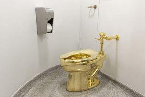 Toilet vàng khối trong điện Blenheim bị đánh cắp