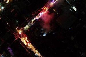 Bình Phước: Cháy chợ trong đêm
