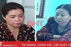 Phá thành công chuyên án, khởi tố 2 'bà trùm' cho vay nặng lãi ở Hà Tĩnh