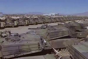 Bất ngờ lớn trước quy mô 'nghĩa địa xe tăng' của Quân đội Mỹ