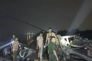 Nhóm 'cát tặc' chống trả, ném đá CSGT khi bị truy bắt trên sông Đồng Nai