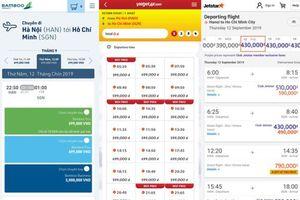 Niêm yết giá vé máy bay: Vietjet 'tố ngược' Vietnam Airlines không minh bạch