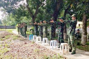 Xây dựng đội ngũ sĩ quan dự bị vững mạnh