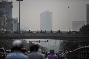 Chỉ số không khí ở thủ đô Hà Nội ô nhiễm ở mức nghiêm trọng