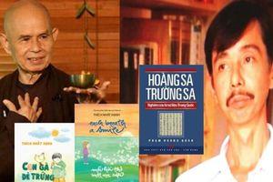 Sách của Thiền sư Thích Nhất Hạnh và Nghiên cứu Hoàng Sa,Trường Sa đoạt Giải Sách Hay 2019