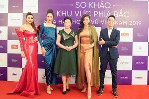 Thí sinh Hoa hậu Hoàn vũ đẹp lộng lẫy đua sắc với BGK