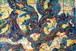 'Nhịp điệu vũ trụ' qua tranh của họa sĩ Trương Bé