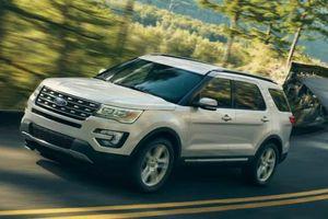 Triệu hồi SUV hạng sang Ford Explorer tại Mỹ do lỗi ghế ngồi