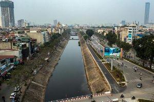 Sẽ xây dựng 3 cầu vượt cho người đi bộ, đi xe đạp qua sông Tô Lịch