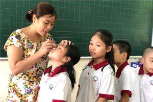 Học sinh phường Hạ Đình đã yên tâm tới trường