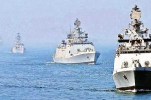 Khởi động tập trận hải quân chung Ấn Độ-Singapore-Thái Lan