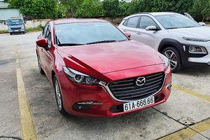 Chủ xe Mazda3 bốc trúng biển '6 số 6' ở Bình Dương