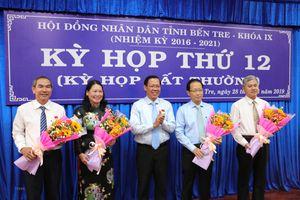 Thủ tướng phê chuẩn bầu bổ sung hai Phó Chủ tịch tỉnh Bến Tre
