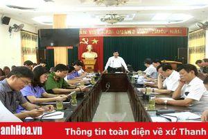 Công bố dự thảo báo cáo kết quả kiểm tra công tác phòng chống tham nhũng tại huyện Hậu Lộc