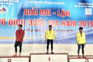 Đồng Nai xếp hạng 4 toàn đoàn Giải Lặn vô địch quốc gia 2019