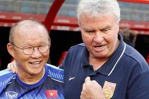 HLV Guus Hiddink mất ghế sau thất bại trước HLV Park Hang-seo