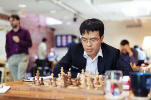 Lê Quang Liêm vào vòng 4 World Cup cờ vua 2019