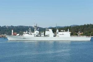Chiến hạm Canada đi qua eo biển Đài Loan khiến Trung Quốc thêm lo ngại