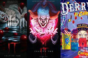 Gã hề ma quái - IT Chapter 2: Top 10 poster rùng rợn đến điên loạn
