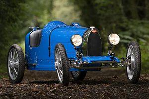 Siêu xe Bugatti Baby II đồ chơi đắt hơn cả Honda Civic