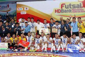 Thái Sơn Nam lần thứ 9 vô địch futsal quốc gia