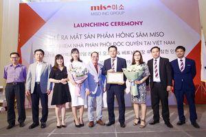 Ra mắt sản phẩm Hồng Sâm Miso Hàn Quốc