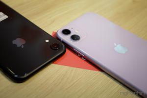 iPhone 11 cập bến thị trường Việt đọ dáng iPhone XR