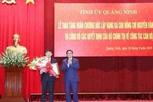 Ông Nguyễn Xuân Ký chính thức nhận nhiệm vụ Bí thư Tỉnh ủy Quảng Ninh