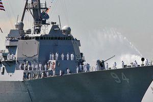 Mỹ điều khu trục hạm có bệ phóng Tomahawk đến yểm trợ Ả Rập Saudi