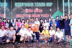 Kết thúc giải Quần vợt ngành Y tế ĐBSCL - Cúp Shinpoong 2019