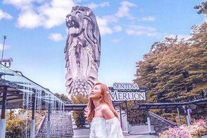 Tượng sư tử biển Singapore sắp bị dỡ bỏ, dân mạng tiếc hùi hụi
