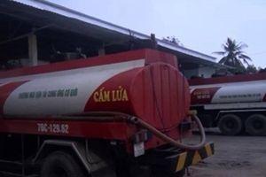 Phá đường dây sản xuất dầu giả quy mô lớn tại Quảng Ngãi