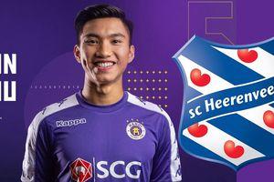 Tối nay Văn Hậu được đá chính cho SC Heerenveen
