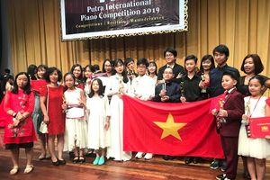 Việt Nam giành nhiều giải thưởng trong cuộc thi piano quốc tế tại Malaysia