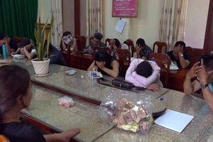 Liên tiếp bắt quả tang nam thanh, nữ tú 'phê' ma túy tập thể ở Bắc Giang