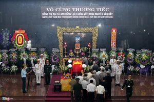 Những hình ảnh đẹp trong lễ tang của phi công huyền thoại Nguyễn Văn Bảy