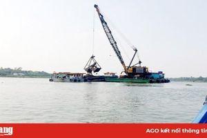 Chợ Mới tập trung quản lý khai thác, kinh doanh cát sông