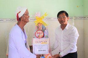 Lãnh đạo tỉnh Bình Thuận chúc Tết Katê tại huyện Bắc Bình
