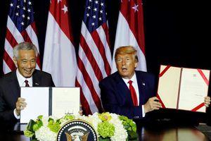 Mỹ và Singapore gia hạn MOU về quân sự
