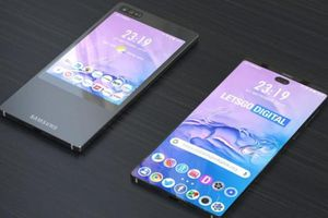 Xuất hiện mẫu smartphone màn hình kép 'lạ' của Samsung