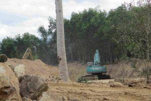 Công an vào cuộc vụ DN đào trộm đất sét ở Bình Định