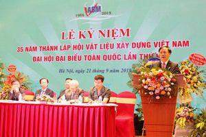 Vietnam Association of Building Materials organizes 7th National Delegation Congress