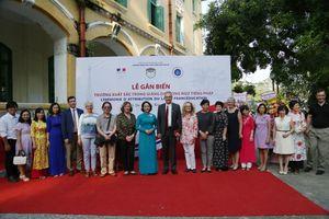Trường Chu Văn An, cơ sở xuất sắc trong giảng dạy song ngữ tiếng Pháp