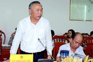 Thứ trưởng Bộ NN-PTNT làm việc với UBND tỉnh về chống đánh bắt thủy sản bất hợp pháp