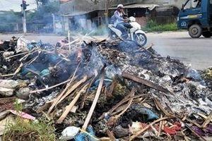 Quảng Nam khẩn trương xử lý rác thải tồn đọng