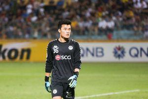 Bùi Tiến Dũng: 60 phút đáng quên trong ngày tái xuất khung gỗ Hà Nội FC