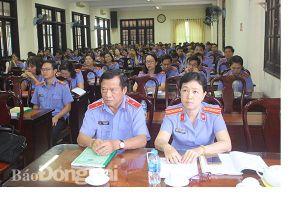 Tập huấn nghiệp vụ cho hơn 300 kiểm sát viên và chuyên viên